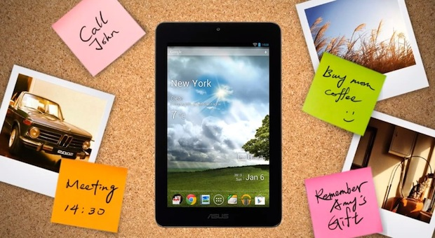 ASUS video showcases 7inch MeMo Pad, flaunts what the $150 tablet can do