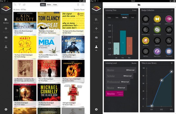 Audible 20 for iOS brings long due iPad support and a UI overhaul