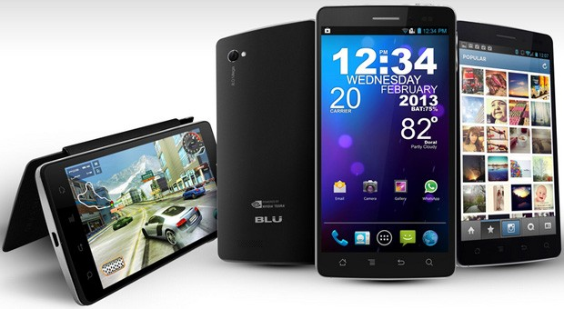 BLU Products unveils Tegra 3running Quattro 45, 45 HD and 57 HD