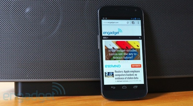 Google Chrome 25 for Android allows background audio