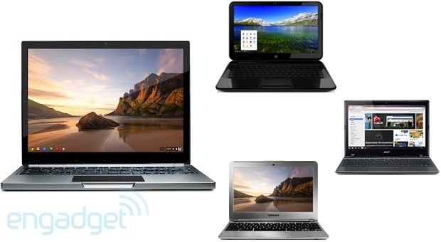 Chromebook Pixel vs other Chromebooks fight!
