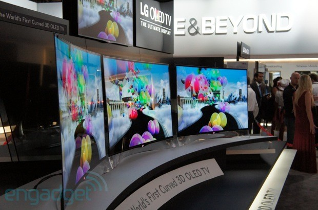 LG Display invests $655 million to expand OLED HDTV mass production next year