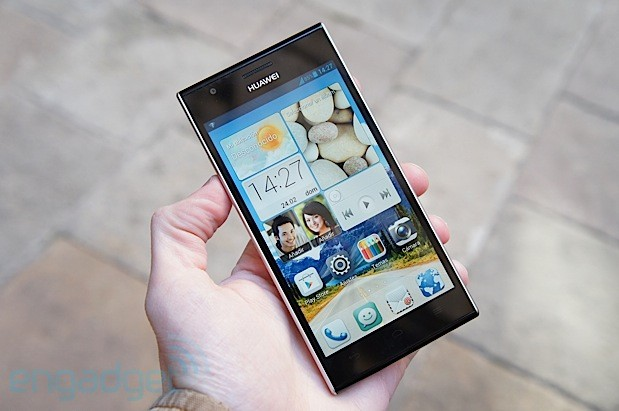 Huawei Ascend P2 hitting Europe in Q2 for 399 euros, we go handson update video