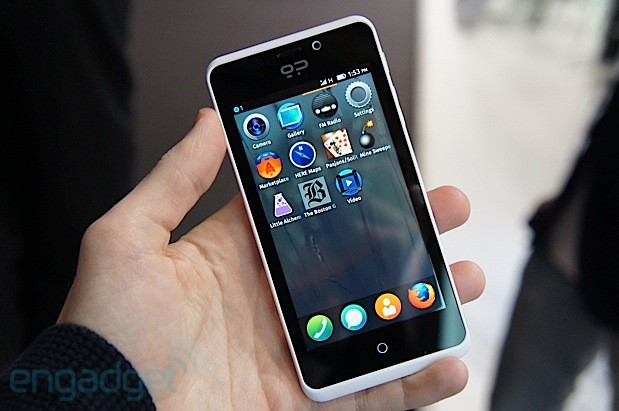 Geeksphone Peek handson a midrange Firefox OS phone from Spain video
