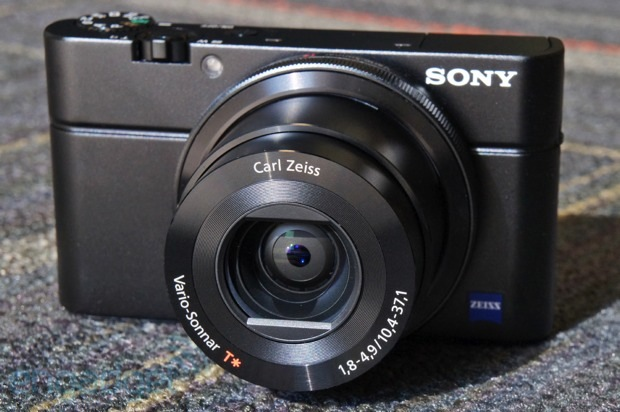 IRL Sony's Cybershot DSCRX100 and the fullframe RX1
