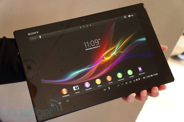 Sony Xperia Tablet Z handson
