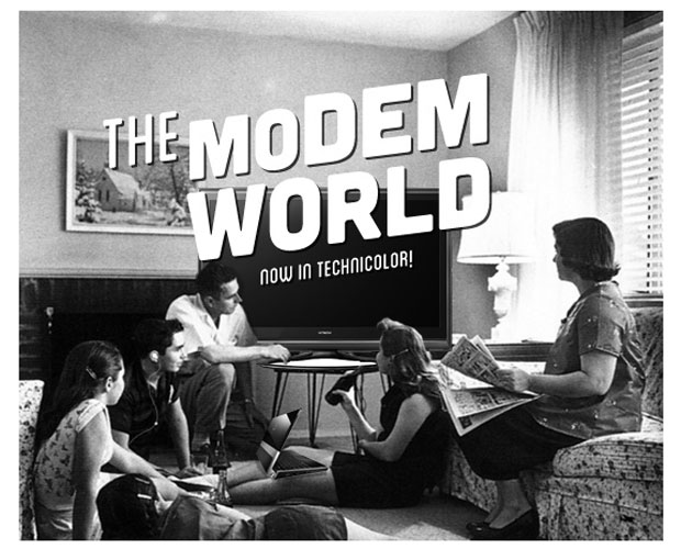 This is the Modem World Please fix two things