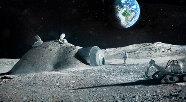 ESA tests prospect of 3D printing Moon bases with lunar soil