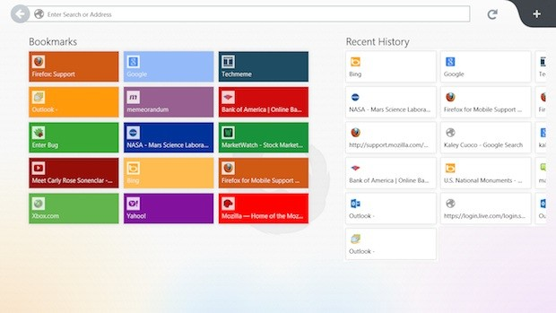 Mozilla releases Firefox with new Windows 8 UI into Nightly channel