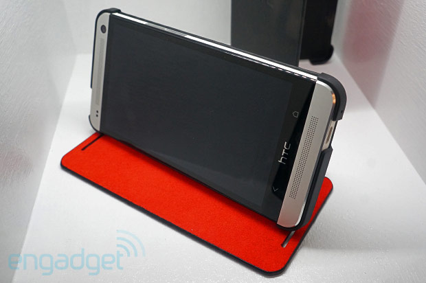 Visualized HTC folding and 'doubledip' colored cases for the One