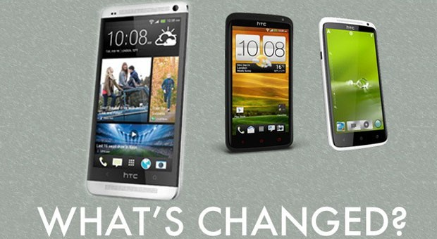 HTC One vs One X, One X what's changed