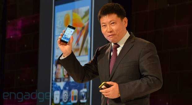 The Engadget Interview Huawei Device Chairman Richard Yu at MWC 2013