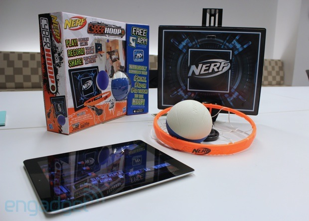 Nerf Cyberhoop hands-on