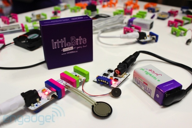 littleBits hands-on