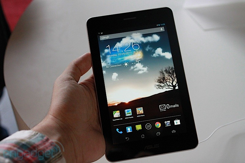ASUS FonePad official 7inch tablet with phone functionality, priced at $249 for 16GB handson