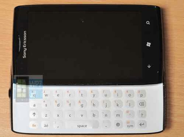 Sony Ericsson Windows Phone prototype slides onto eBay, wants us to call her Julie