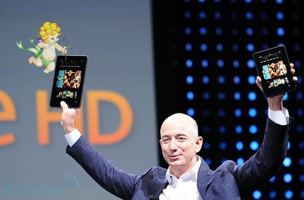 Amazon discounts 89inch Kindle Fire HD models as part of Valentine's Day deals