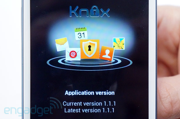 Samsung outs SAFE with Knox, details plans to secure the enterprise Galaxy handson