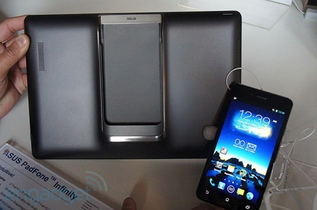 ASUS PadFone Infinity announced 5inch, 1080p display, Snapdragon 600 CPU and full HD tablet display handson