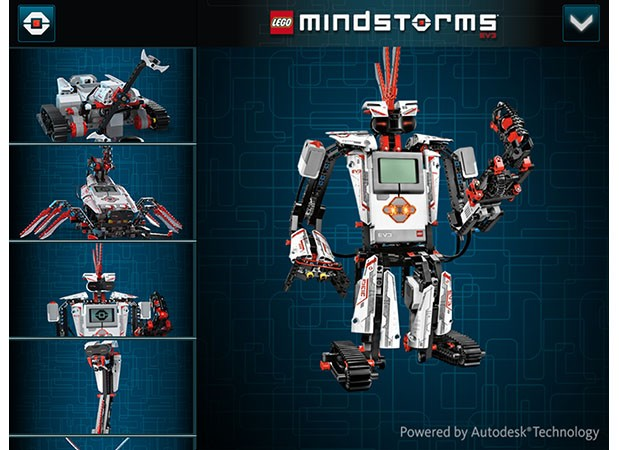 Autodesk partners with Lego to create interactive 3D Mindstorm plans