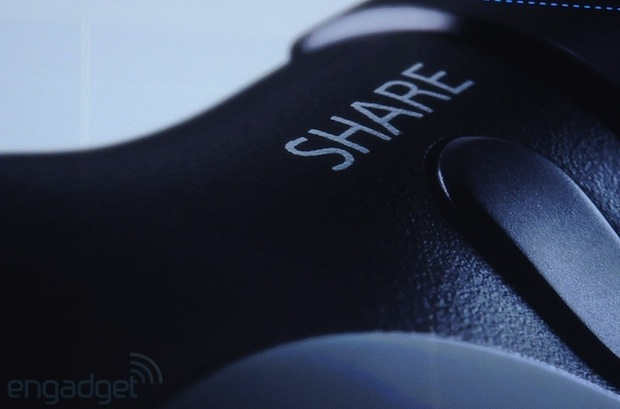 Sony's new DualShock 4 controller official allnew design, touchpad and share button