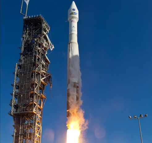 NASA launches Landsat 8