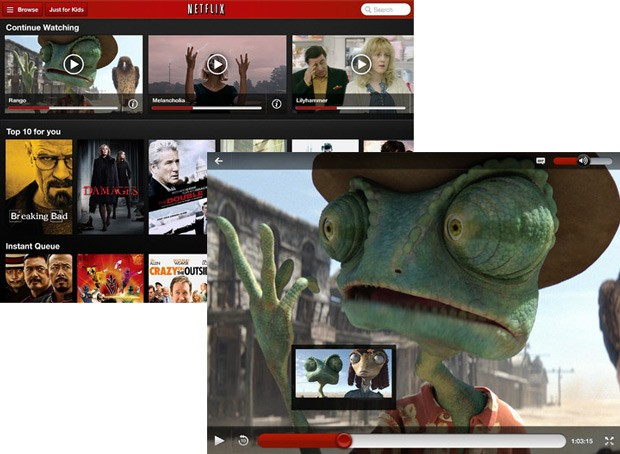 Netflix for iOS 3.0 brings the zoom icon back, adds more UI improvements