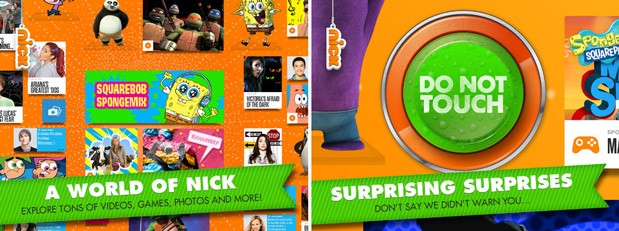Nickelodeon releases Nick App for iPad