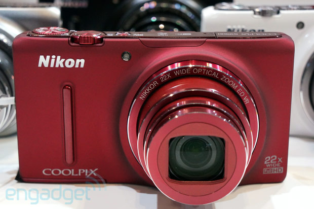 Nikon Coolpix S9500, S9400 and S5200 pointandshoots debut at CP handson video