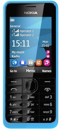 nokia 105 and 301 candybar phones announced at mwc offer simplicity on
