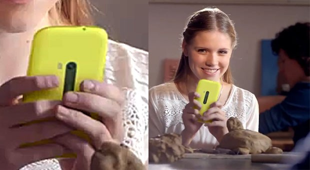 Nokia Lumia 920 ad from Europe shows a mystery model