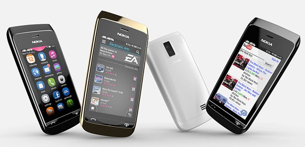 Nokia takes covers off Asha 310 3inch, dual SIM, WiFi, 2MP ccamera