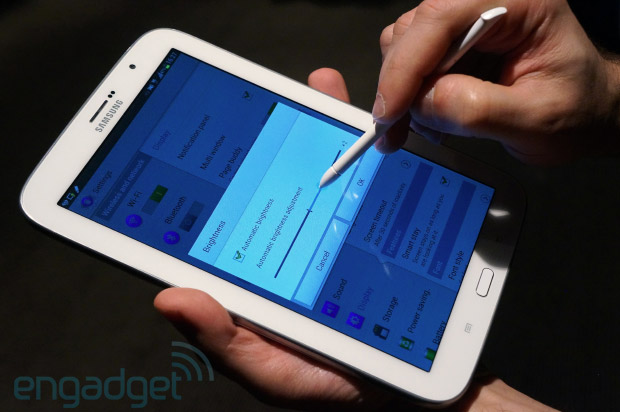 Samsung Galaxy Note 80 preview an 8inch S Pen tablet that's also a phone