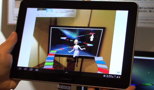 NTT's Visual SyncAR brings augmented reality to video, spices up the second screen (video)