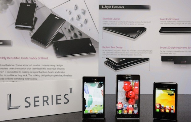 LG reveals Optimus L Series II, dualSIM L7II is the first to launch