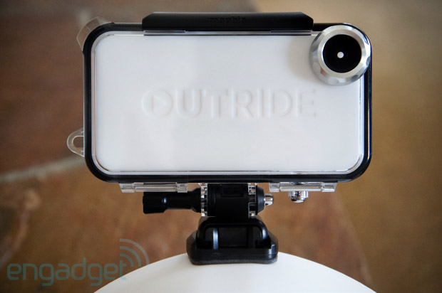 Mophie Outride review actioncam case for iPhone can't replace dedicated shooters