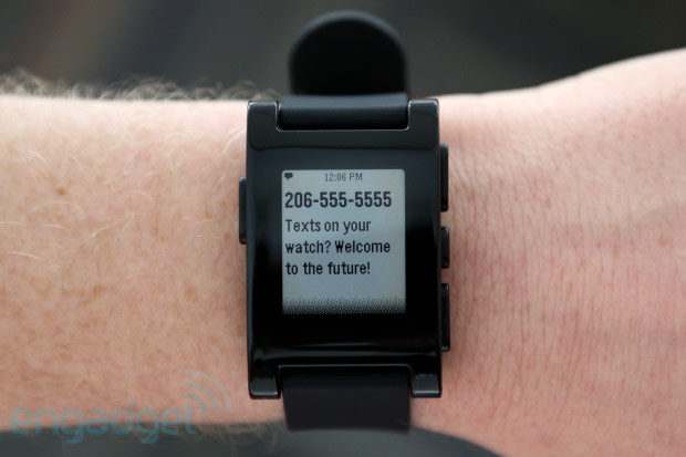 Pebble watch pulls all notifications from the iPhone, but only with jailbreak