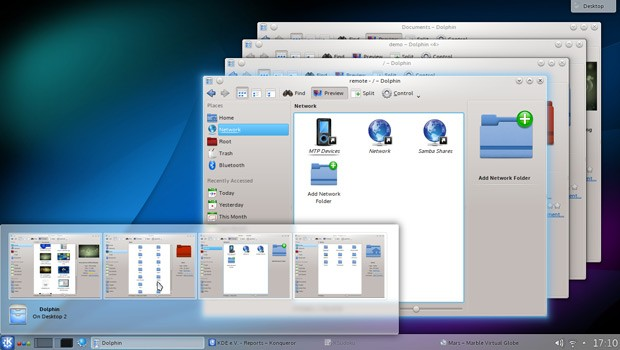 KDE 4.10 released with leaner Air theme, more love for mobile devices