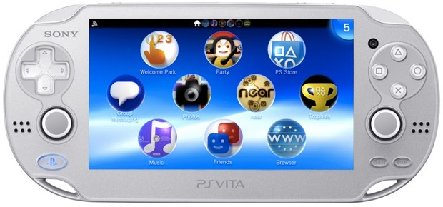 PlayStation Vita reaching Asia in Ice Silver from February 28th