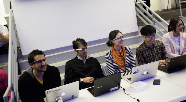 Google Glass hackathon in pictures geeks galore in