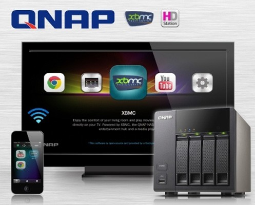 QNAP intros Turbo NAS lines with XBMC builtin, skips the home theater middleman
