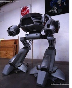 10foot ED209 model from RoboCop 2 storms eBay, demands $25k to comply