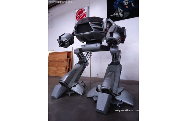 10-foot ED-209 model from