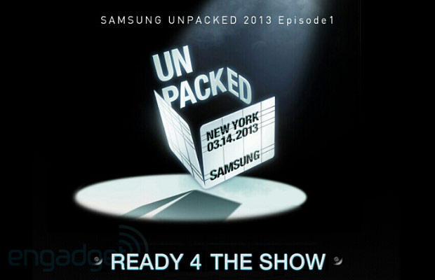Samsung hands out paper invitations to Galaxy S IV launch at MWC