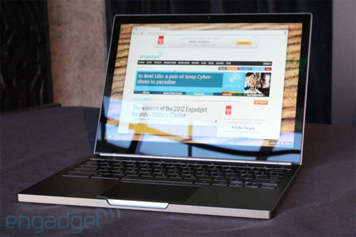 Google announces Chromebook Pixel 18GHz Core i5, 2,560 x 1,700 touchscreen, with LTE option preorder now, ships in April