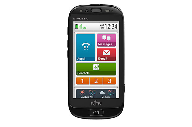 DNP  Fujitsu announces seniorfriendly Stylistic S01 smartphone for Orange Telecom