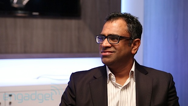 The Engadget Interview Qualcomm's Raj Talluri talks Snapdragon at MWC 2013