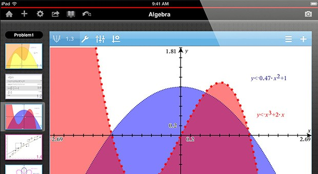 TI rethinks the graphing calculator with TINspire for iPad video