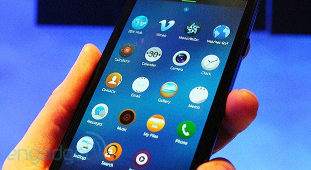 Handson with Tizen 20 on Samsung's developer handset video