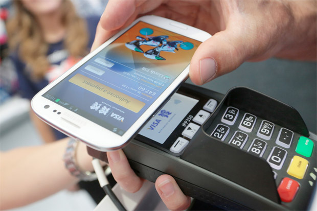 Visa and Samsung ink worldwide NFC deal here comes the payWave bloatware
